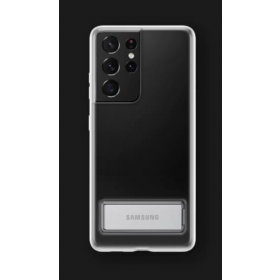Zaštitna stojeća maska za Samsung Galaxy S21 Ultra prozirna EF-JG998CTEGWW