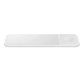 Bežični punjač Samsung Trio bijeli za 2 mobitela ili sat EP-P6300TWEGEU