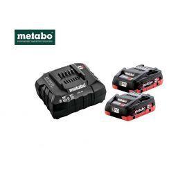 Aku set baterije + punjač Metabo Basic set 2 x 4,0 LiHD