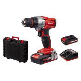 Aku set bušilica i baterije Einhell TE-CD 18/2 Li Kit (2x1,5 Ah) - sa baterijom i punjačem