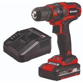 Aku set bušilica i baterije Einhell TC-CD 18/35 Li (1x1,5 Ah) - sa baterijom i punjačem