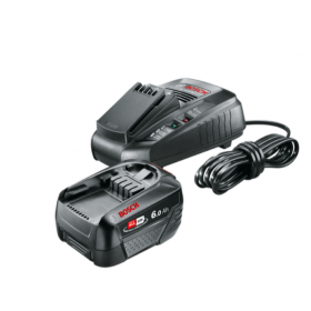 Aku starter set Bosch 18V - 1x baterija PBA 18V / 6,0Ah + punjač AL1830CV