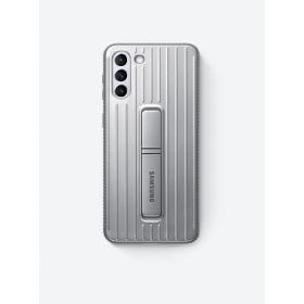 Zaštitna stojeća maska za Samsung Galaxy S21+ svijetlo siva EF-RG996CJEGWW