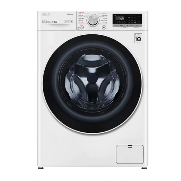 Perilica-sušilica rublja LG F2DV5S7S0E, 7/5kg, 1200okr, pranje parom, WiFi, slim