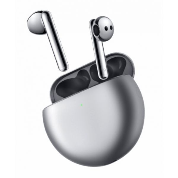 Slušalice Huawei FreeBuds 4 sa funkcijom blokade buke Silver Frost
