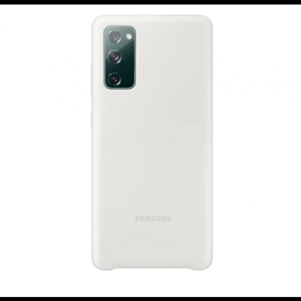 Silikonska maska za Samsung Galaxy S20 FE  bijela EF-PG780TWEGEU