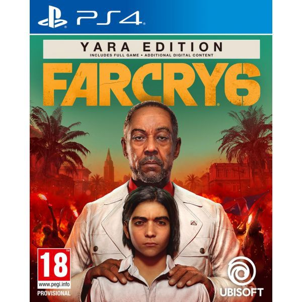 Far Cry 6 Yara Special Day 1 Edition PS4