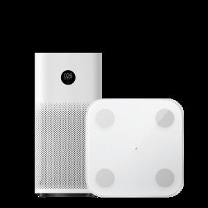 Xiaomi Mi Air Purifier 3H + Mi Body Composition Scale 2