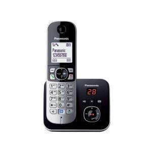 Telefon Panasonic KX-TG6821FXB crni, sekretarica