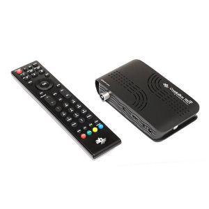 Outlet_DVB-T2 HEVC prijemnik  CRYPTOBOX 702T MIN - SERVISIRAN UREĐAJ, JAMSTVO DO 24.3.2022.