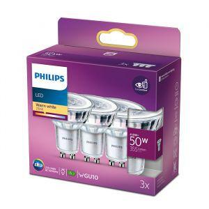 Žarulja Philips LEDClassic 50W GU10 Warm White 36D ND 3SRT6, 3kom