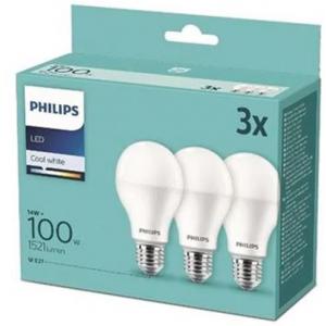 Žarulja Philips LED 100W A60 E27 Warm White  FR ND 3SRT6, 3kom