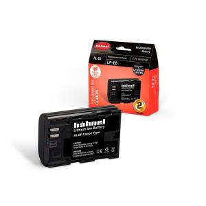 Hähnel HL-E6 1650mAh zamjenska baterija za LP-E6 bateriju za Canon digitalne fotoaparate