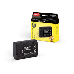 Hähnel HL-XZ100 2000mAh zamjenska baterija za NP-FZ100 bateriju za Sony digitalne fotoaparate