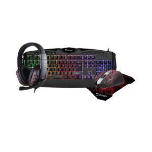 SET RAMPAGE EVEREST KB-GX41 Molten-X (tipkovnica, slušalice, miš, podloga), LED, UK/HR layouit