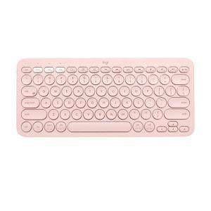 Logitech tipkovnica K380, Bluetooth, Rose
