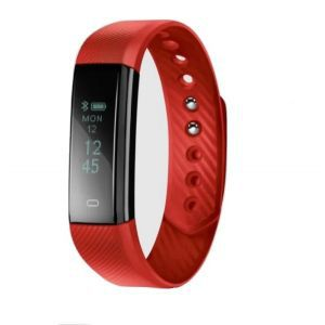 Acme ACT101R multisport activity tracker OLED BT crveni