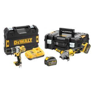 Aku set DeWalt alata (DCD996 i DCG414 + 2 x 54V 6.0Ah) DCK2055T2T