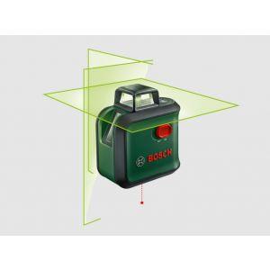 Laserski nivelir Bosch AdvancedLevel 360 UNI Zeleni laser