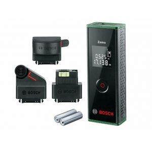 Laserski daljinomjer Bosch Zamo III UNI OnlineTT + 3 Adaptera