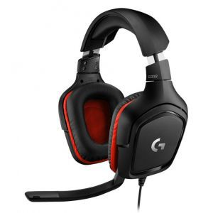 Logitech Slušalice Gaming G332, s mikrofonom, crne