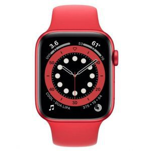 Apple Watch S6 GPS, 44mm PRODUCT(RED) Aluminium Case with PRODUCT(RED) Sport Band - Regular