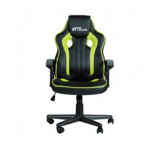 Stolica gamerska BYTEZONE TACTIC crno - zelena