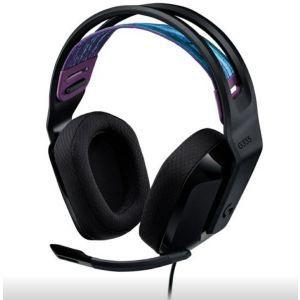 Logitech Slušalice Gaming G335, s mikrofonom, crne