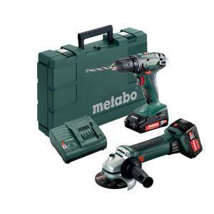 Set Metabo aku alata 2.4.3 18V (BS18/W18 LTX/1x2,0Ah/1x4,0Ah)