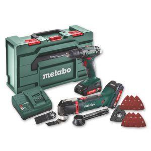 Set Metabo aku alata 2.6.1 18V (BS18/MT18/2x2.0 Ah/kovčeg)