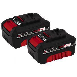 Aku set 2 baterije Einhell PXC-Twinpack 4,0 Ah