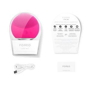 Uređaj za čišćenje lica FOREO LUNA™ Mini 2 Fuchsia
