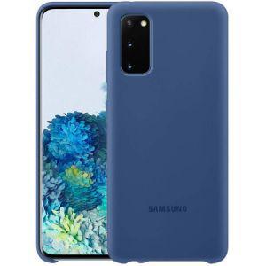 Silikonska maska za Samsung Galaxy S20 FE navy plava EF-PG780TNEGEU