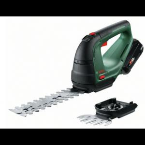 Aku škare za travu i grmove Bosch AdvancedShear18 set