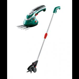 Aku škare za travu i grmove Bosch ISIO set 3