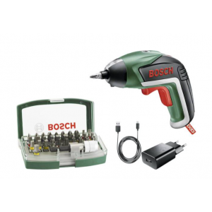 Aku odvijač Bosch IXO Gen. V + Bit Set