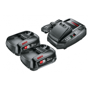 Aku starter set Bosch 18V - 2x baterija PBA 18V / 2,5Ah + punjač AL1830CV