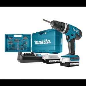 Aku udarna bušilica-odvijač Makita HP347DWEX3 - sa baterijom i punjačem