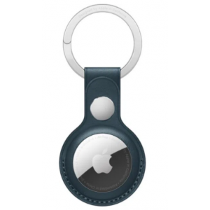 Outlet_Apple AirTag Leather Key Ring - Baltic Blue
