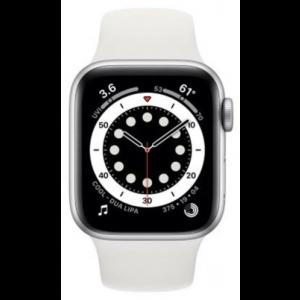 Outlet_Apple Watch S6 GPS, 40mm Silver Aluminium Case with White Sport Band - Regular - SERVISIRAN UREĐAJ, JAMSTVO DO 25.7.2022.
