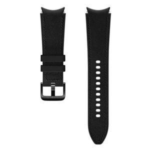 Dodatni kožni remen 20mm M/L za Samsung Galaxy Watch4 Classic crni ET-SHR89LBEGEU