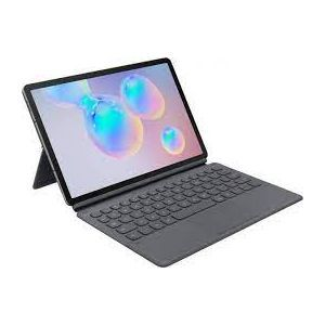 Outlet_Book Cover s tipkovnicom Samsung Galaxy Tab S6 sivi EF-DT860BJEGGB