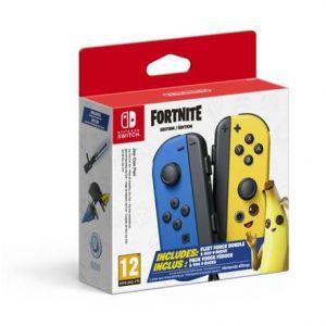 Nintendo Switch Joy-Con Pair Blue-Yellow Fortnite Fleet Force Bundle Edition