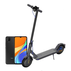 Električni romobil Xiaomi Mi Scooter 3 crni + POKLON Xiaomi Redmi 9C NFC
