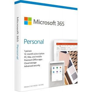 Microsoft 365 Personal subs 1YR medialess