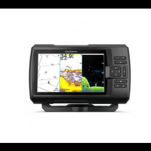 Fishfinder Garmin Striker Vivid 7cv (s krmenom sondom CHIRP 77/200kHz/ClearVü GT20-TM, 4-pin), GPS