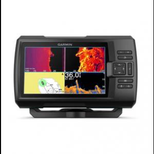 Fishfinder Garmin Striker Vivid 7sv (s krmenom sondom CHIRP 150-240kHz/ClearVü/SideVü GT52HW-TM, 12-pin),GPS