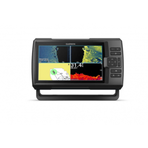 Fishfinder Garmin Striker Vivid 9sv (s krmenom sondom CHIRP 150-240kHz/ClearVü/SideVü GT52HW-TM, 12-pin),GPS