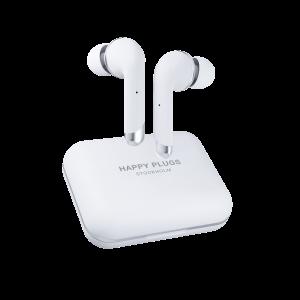 Happy Plugs Air1 Plus In-Ear bežične slušalice bijele