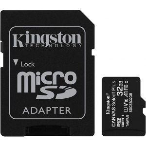 Kingston 32GB micSDHC Canvas Select Plus 100R + ADP